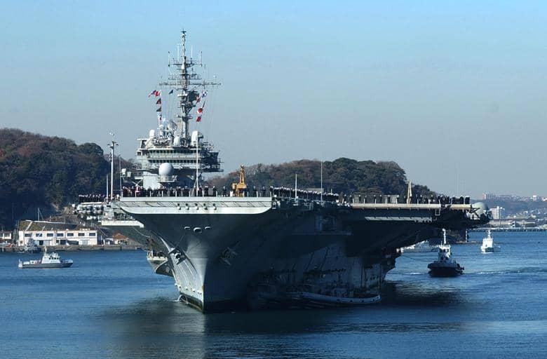 USS Gerald R. Ford, el portaavión más grande del mundo