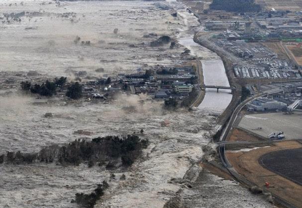 Tsunami de Tohoku, el segundo Tsunami más grande del mundo