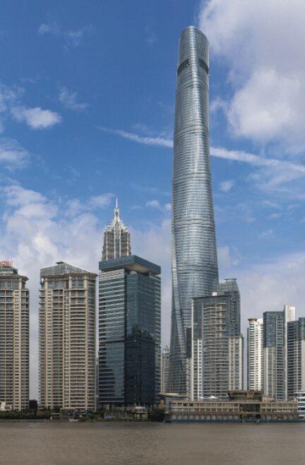 Shanghai Tower, el edificio autosustentable más grande del mundo