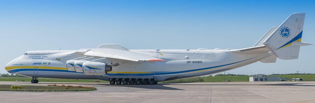 Antonov An-225, el avión más grande y pesado del mundo