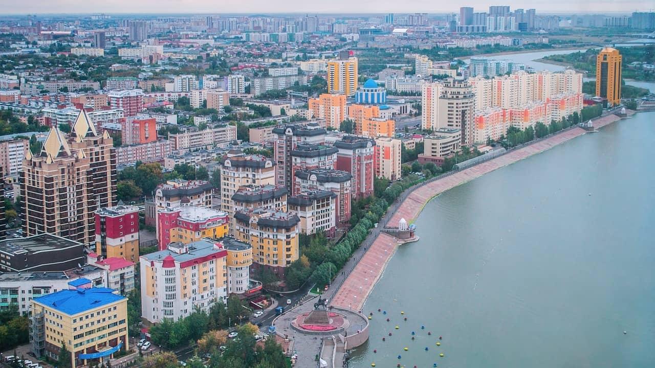 Kazajstán, uno de los países más grandes de Asia