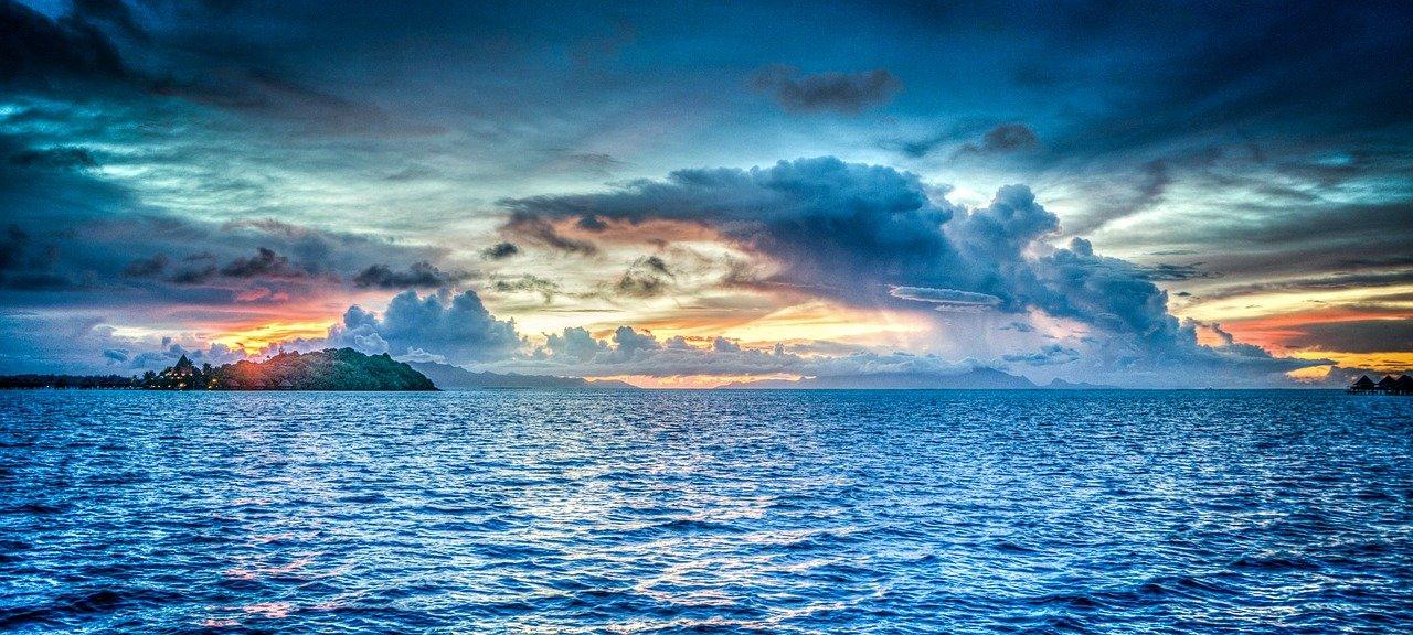 Océano Pacífico, el océano más grande del mundo