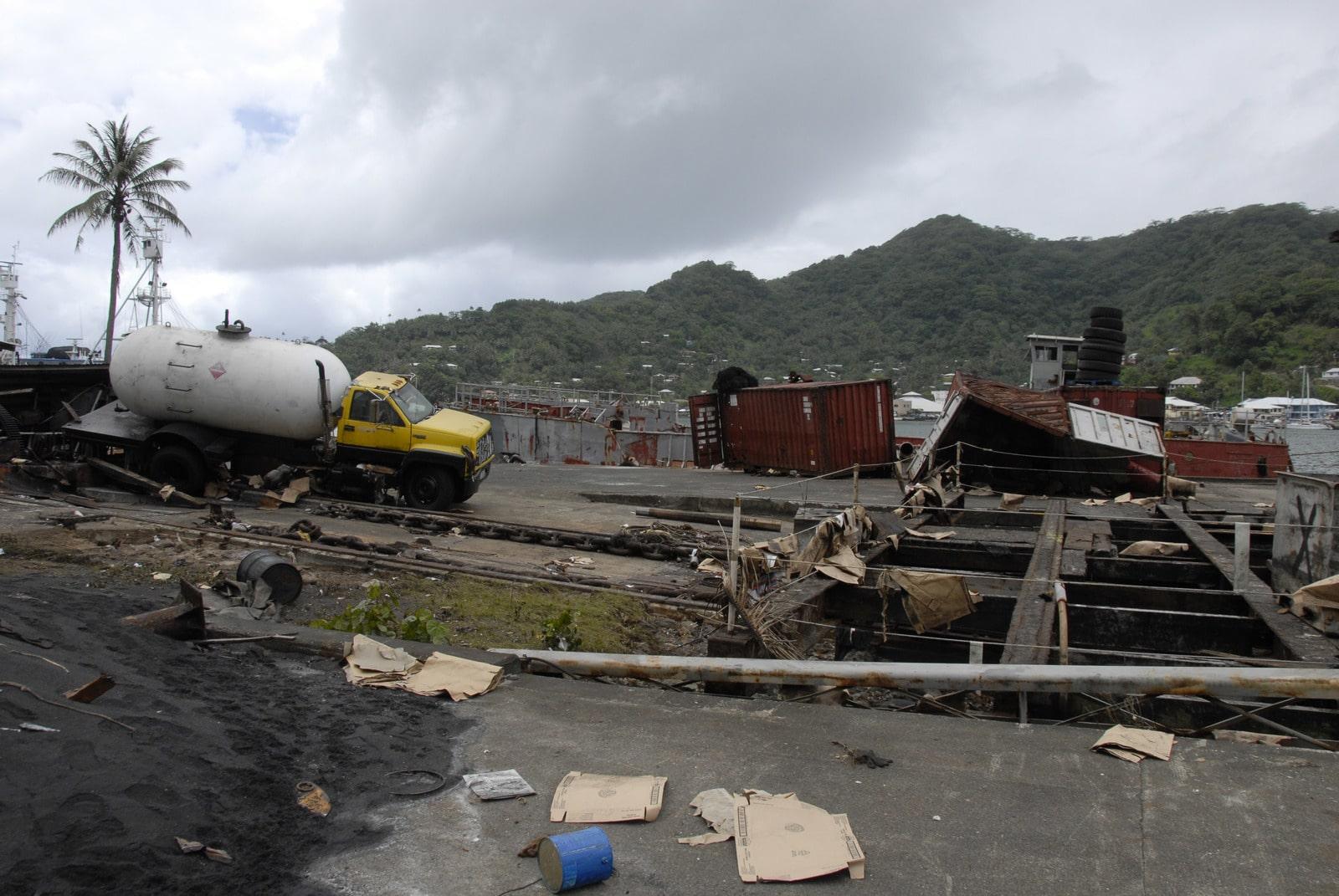 Tsunami de Samoa