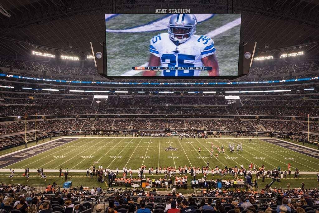 AT&T Stadium, el segundo estadio más grande del mundo