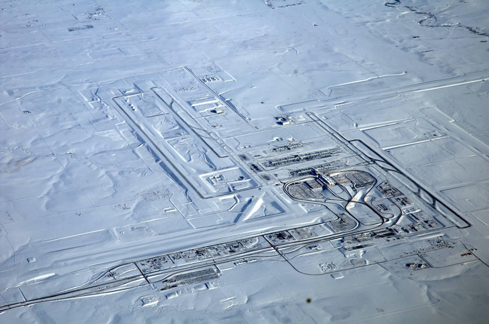 Aeropuerto Internacional de Denver, Estados Unidos, el segundo más grande del mundo.