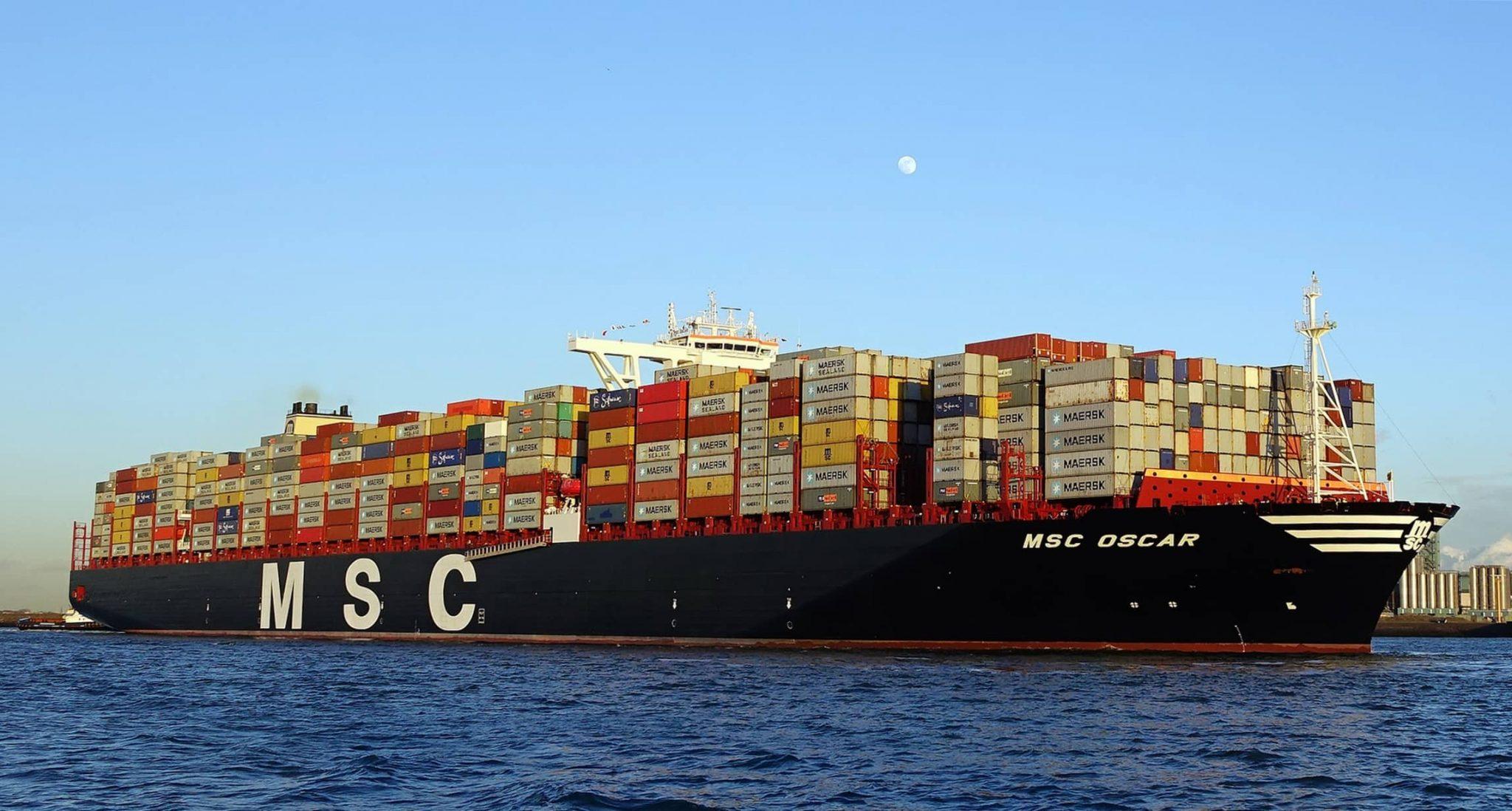 MSC Oscar, el barco más grande del mundo