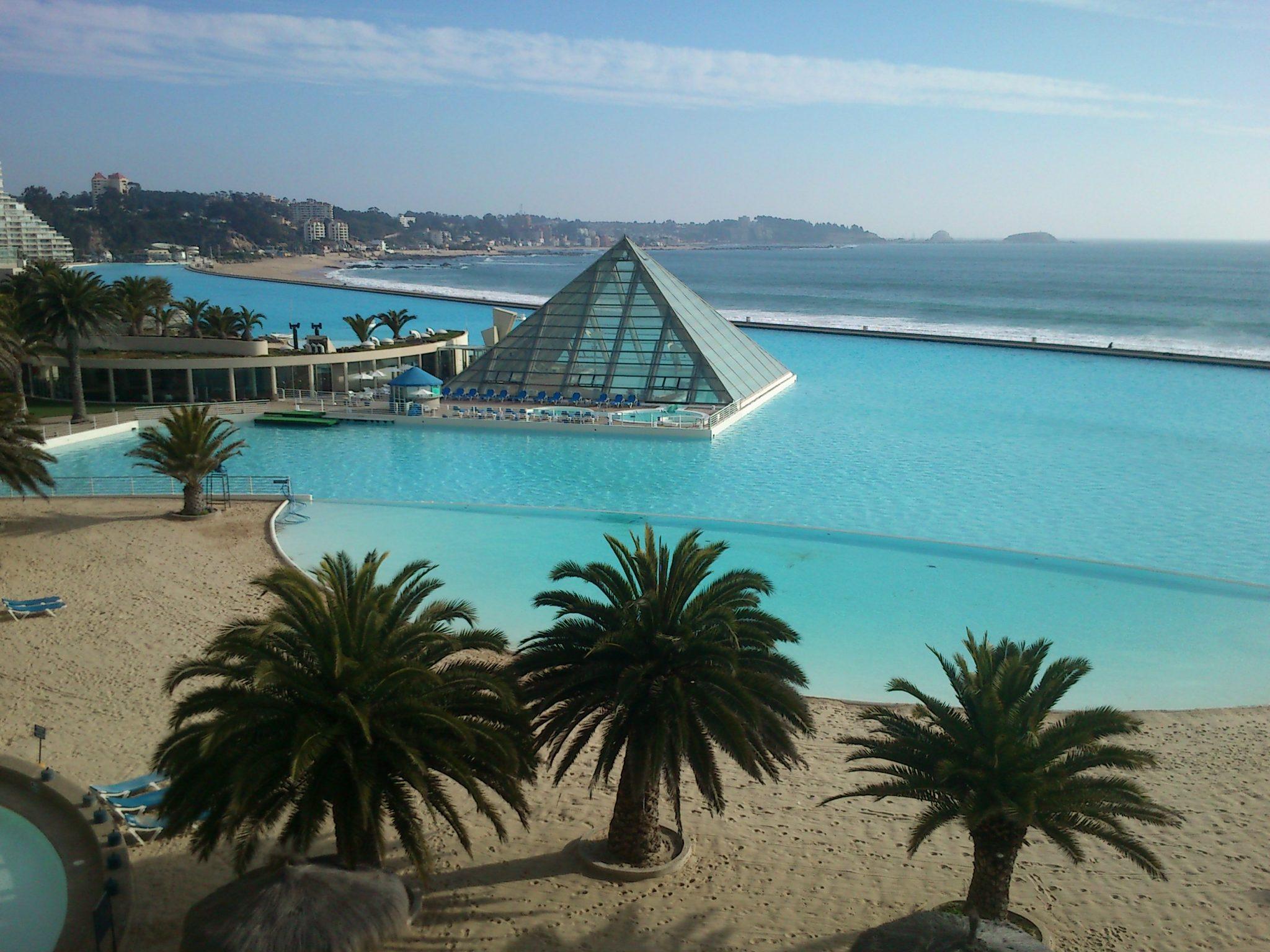 San Alfonso del Mar, la segunda piscina más grande del mundo.