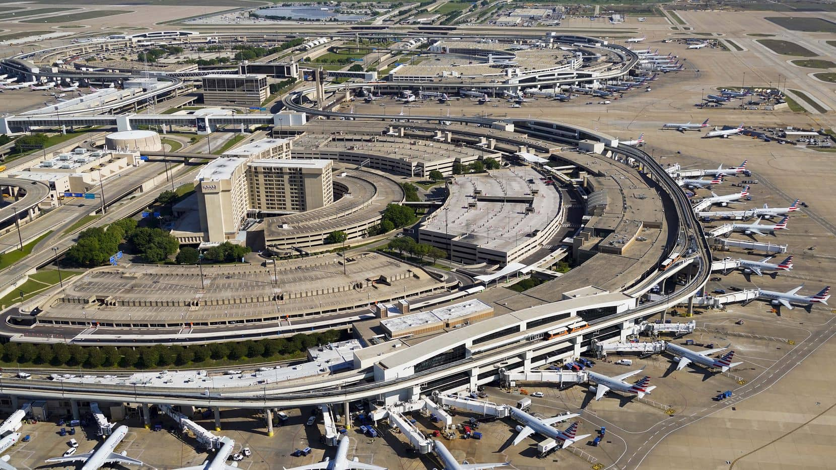 Aeropuerto Internacional de Dallas-Fort Worth, Estados Unidos.
