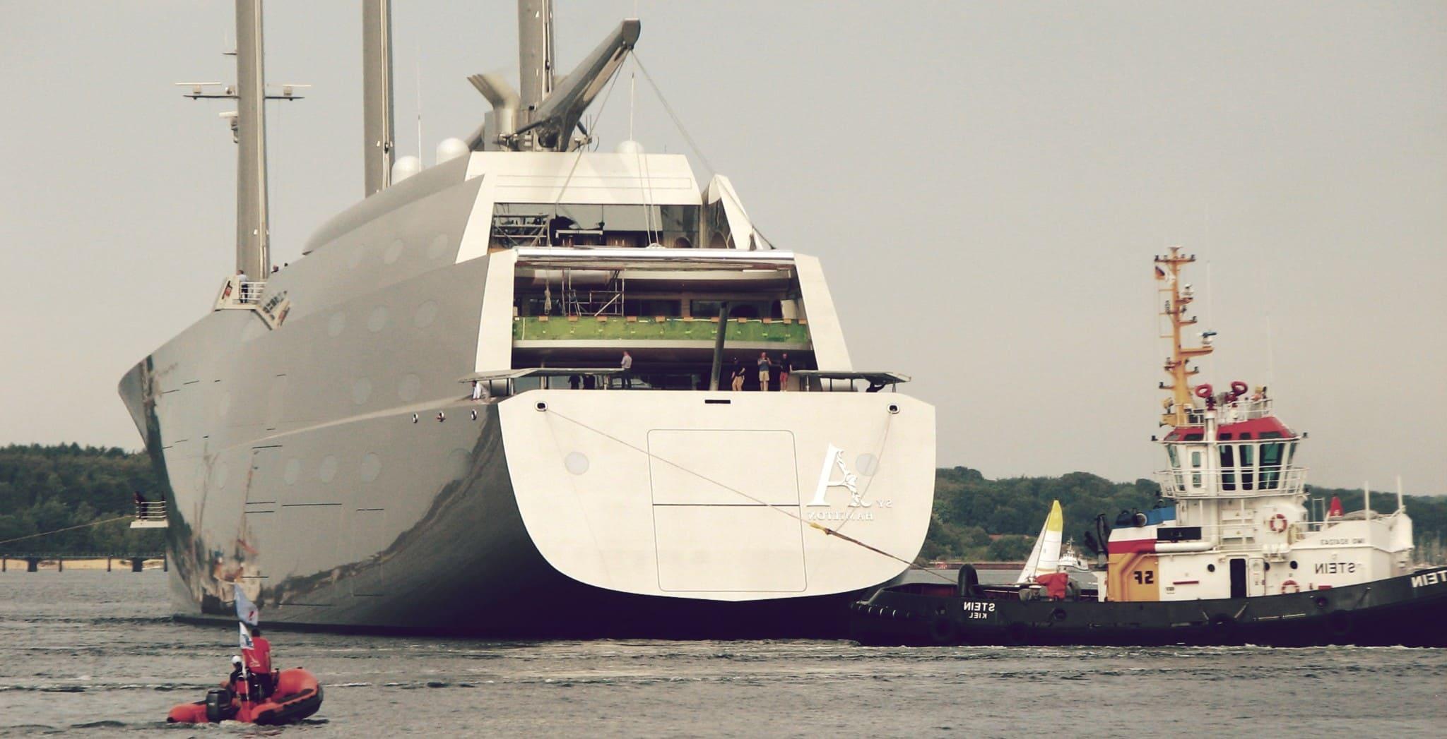 Velero A (Sailing Yacht A), el más grande del mundo.