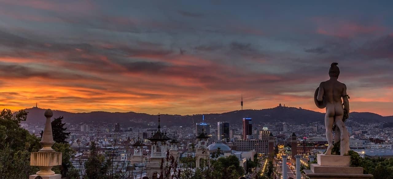 Barcelona, la segunda ciudad más grande de España.
