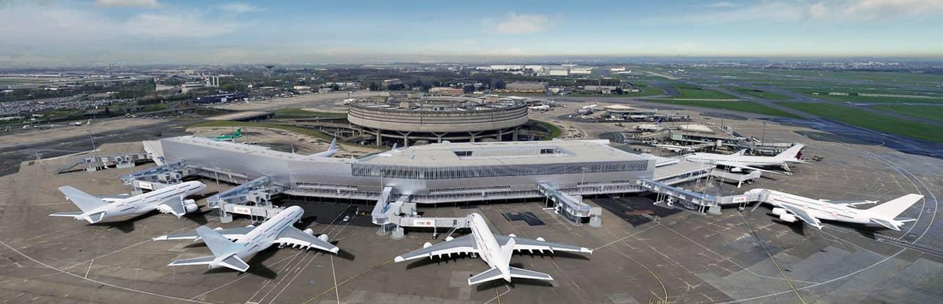 Aeropuerto Internacional Charles Gaulle, Francia.