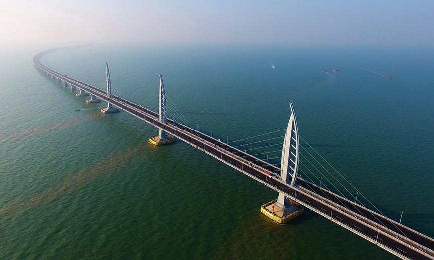 Gran Puente de Danyang–Kunshan, el más grande y largo del mundo.