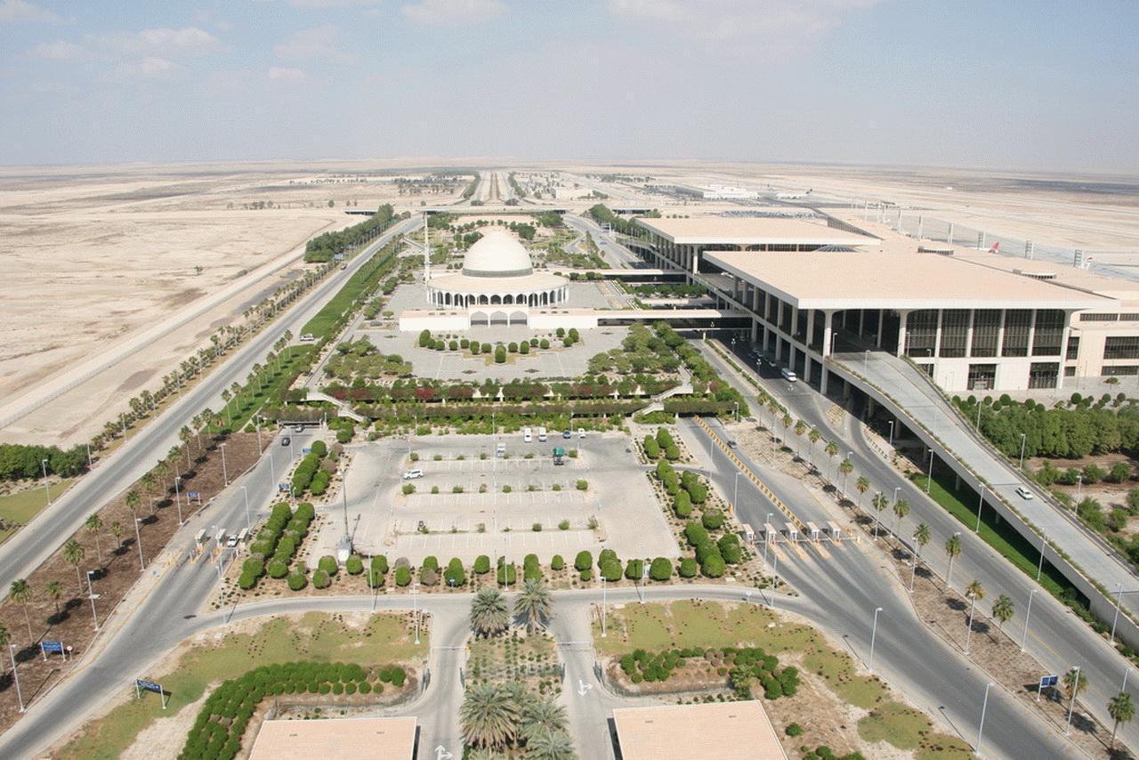 Aeropuerto Internacional Rey Fahd, Dammam, oficialmente el más grande del mundo.