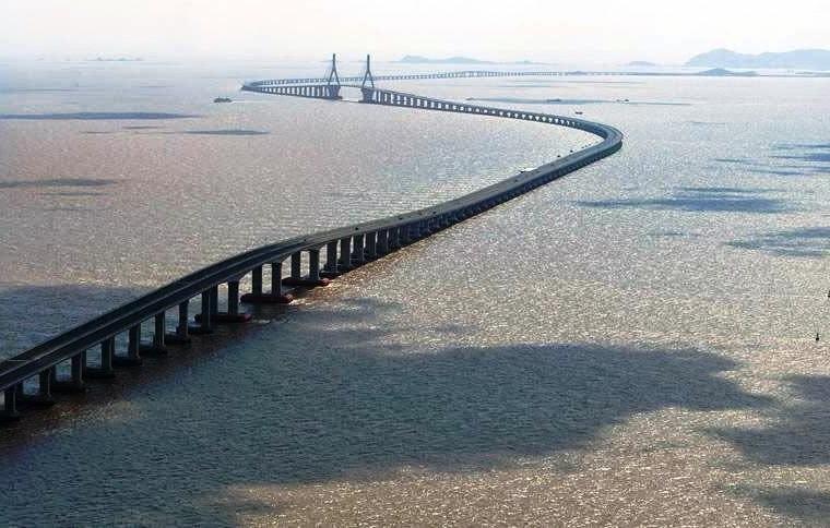 Viaducto Changhua-Kaohsiung, el segundo puente más largo y grande del mundo.