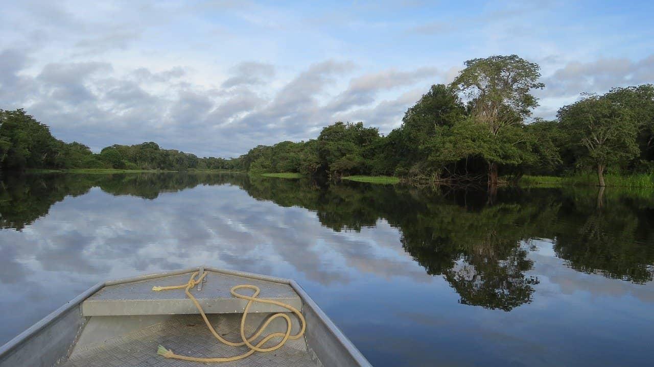 Rio Amazonas, el más grande del mundo