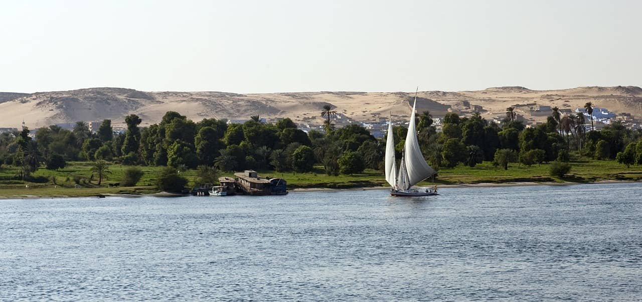 Rio Nilo, el segundo más grande del mundo
