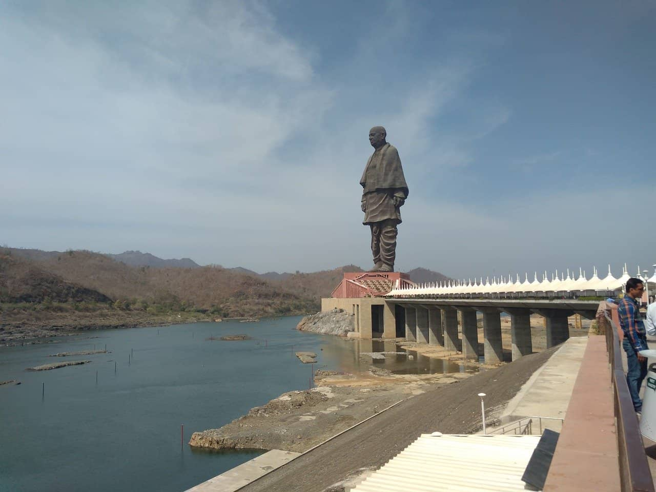 Estatua de la Unidad, la más grande del mundo.
