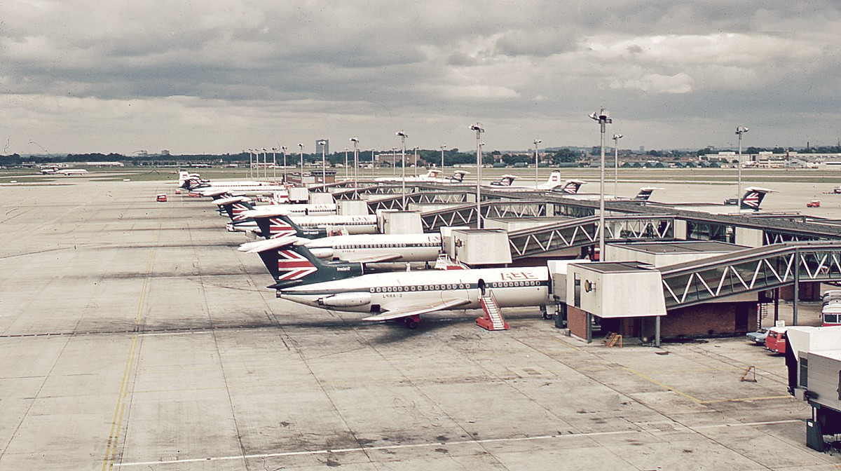 Aeropuerto de Londres-Heathrow, el más grande de Europa