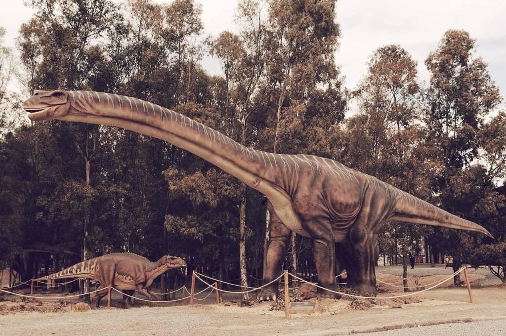 Dinosaurio Argentinosaurus huinculensis, el dinosaurio más grande del mundo