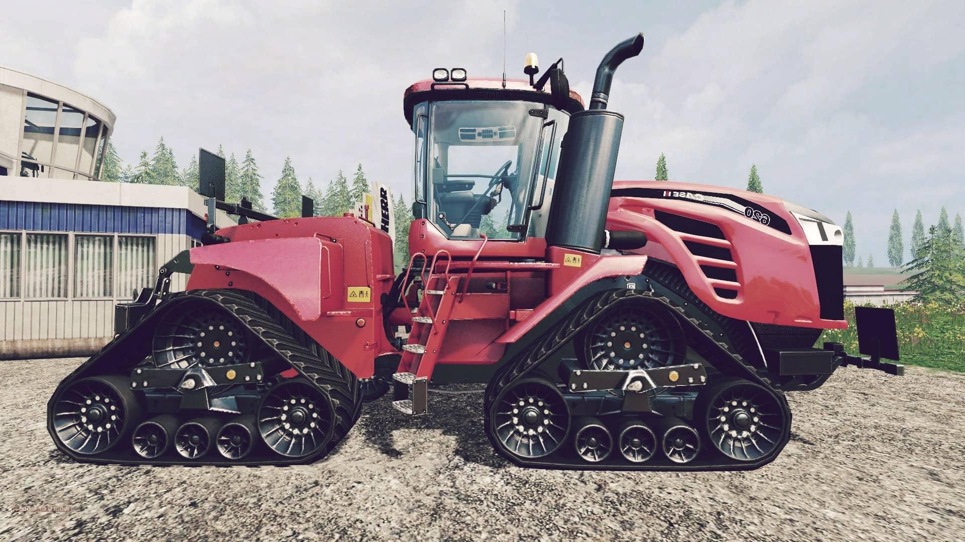 Case IH Quadtrac 620, el segundo en la lista de los tractores más grandes del mundo
