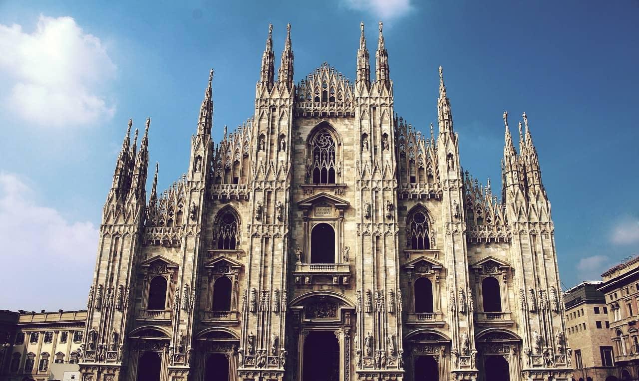 Catedral de Milán, la segunda iglesia más grande de Italia