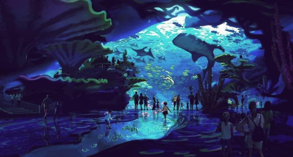 Chimelong Ocean Kingdom, el acuario más grande del mundo