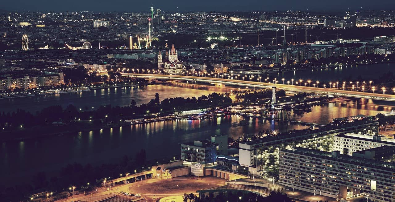 Viena, Austria, una de las ciudades más grandes de Europa
