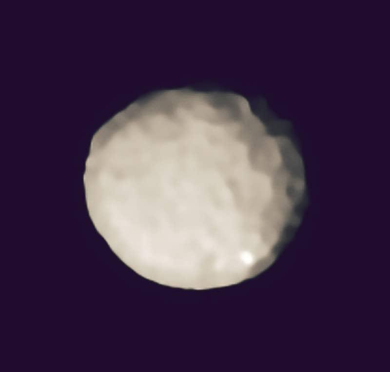 Palas 2, oficialmente el asteroide más grande del universo