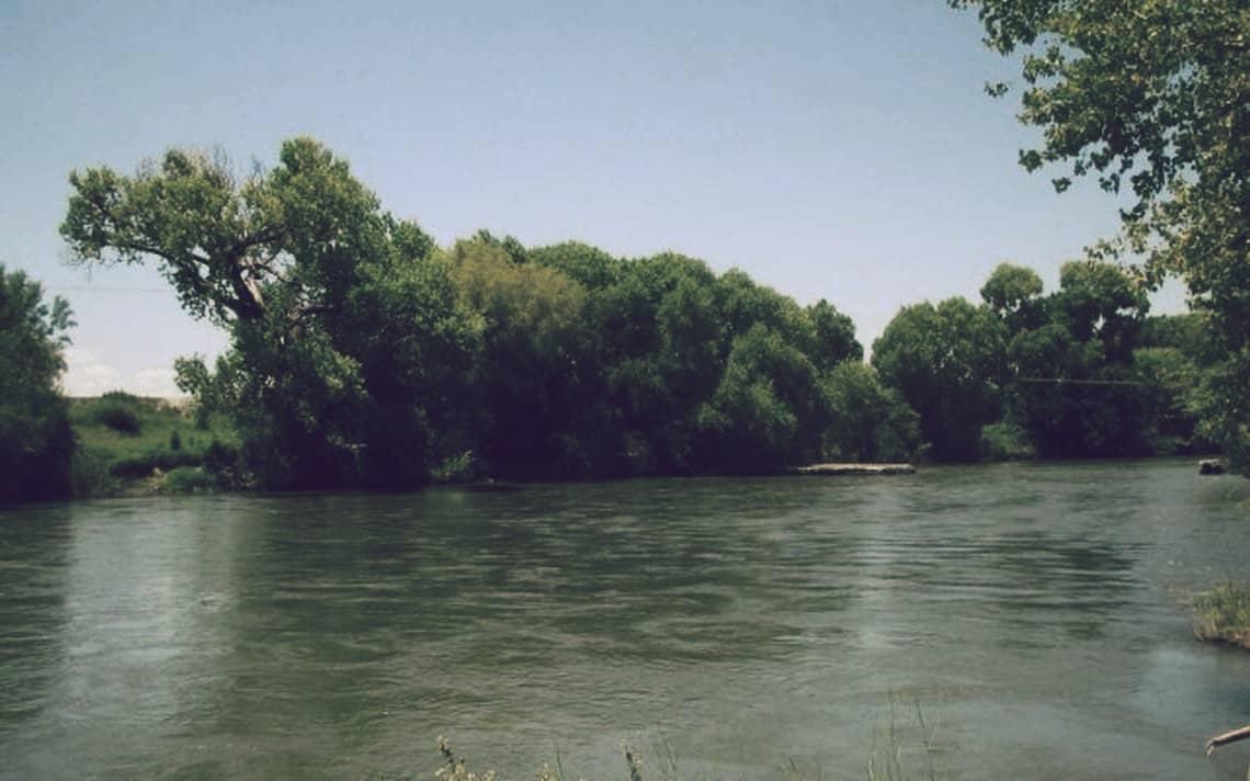 Río Conchos, el más grande de México