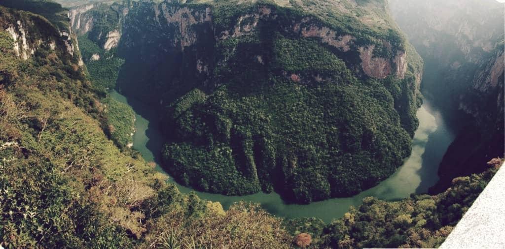 Río Grijalva, uno de los más grandes de México