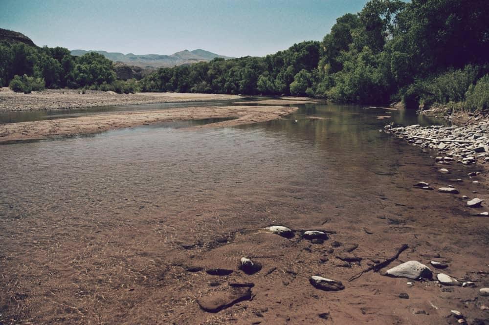 Río Yaqui de México