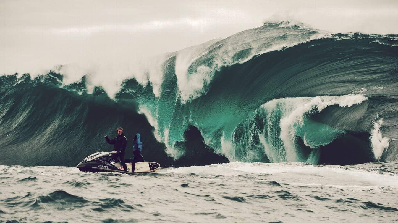Shipstern Bluff, una de las olas más grandes del mar