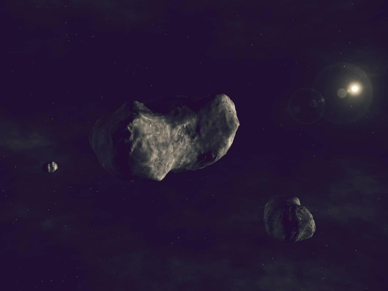 Asteroide Sylvia 87
