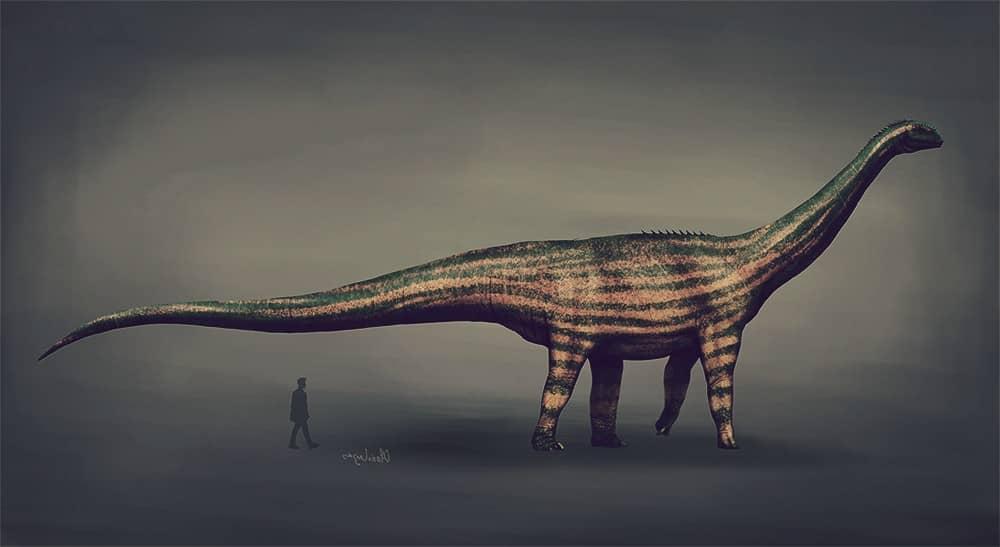 Dinosaurio Turiasaurus, el segundo más grande del mundo