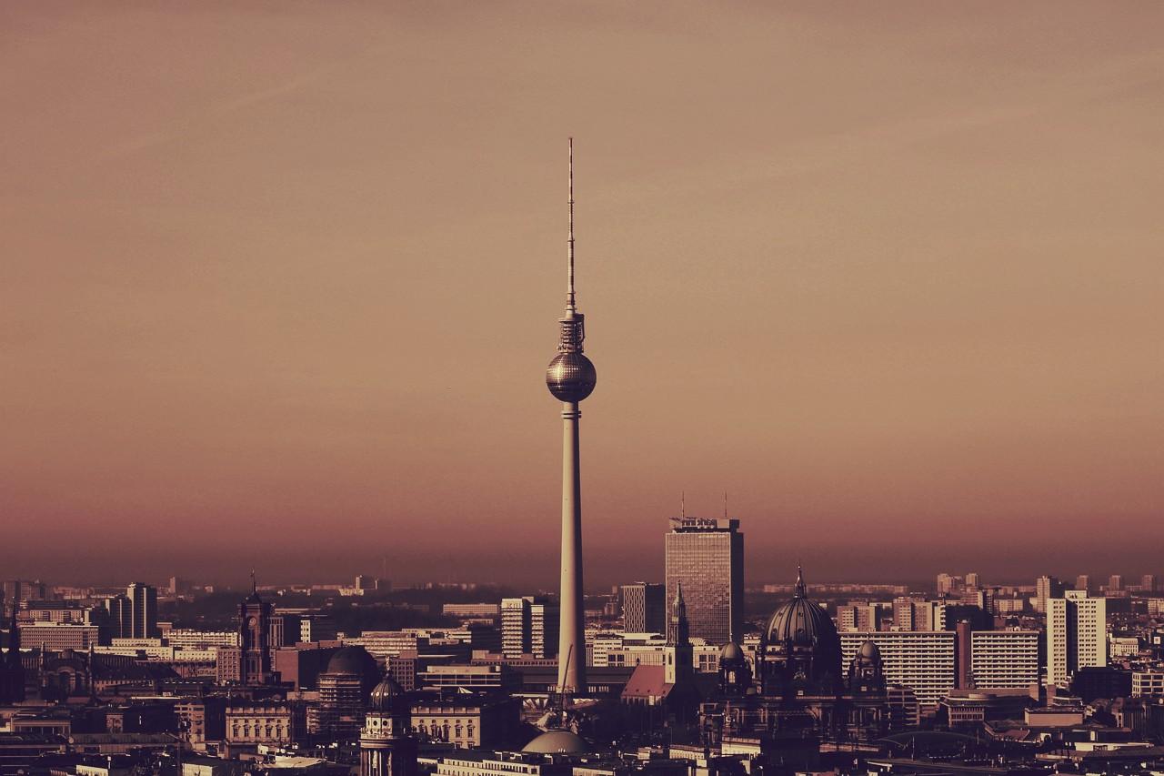 Berlín, Alemania, la segunda ciudad más grande de Europa