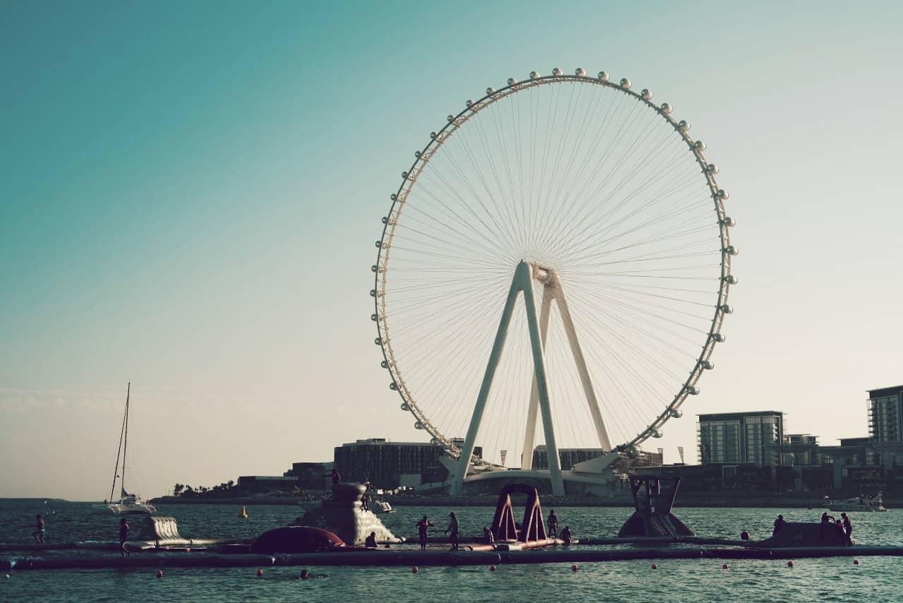 La noria Ain Dubai, una de las más grandes del planeta tierra