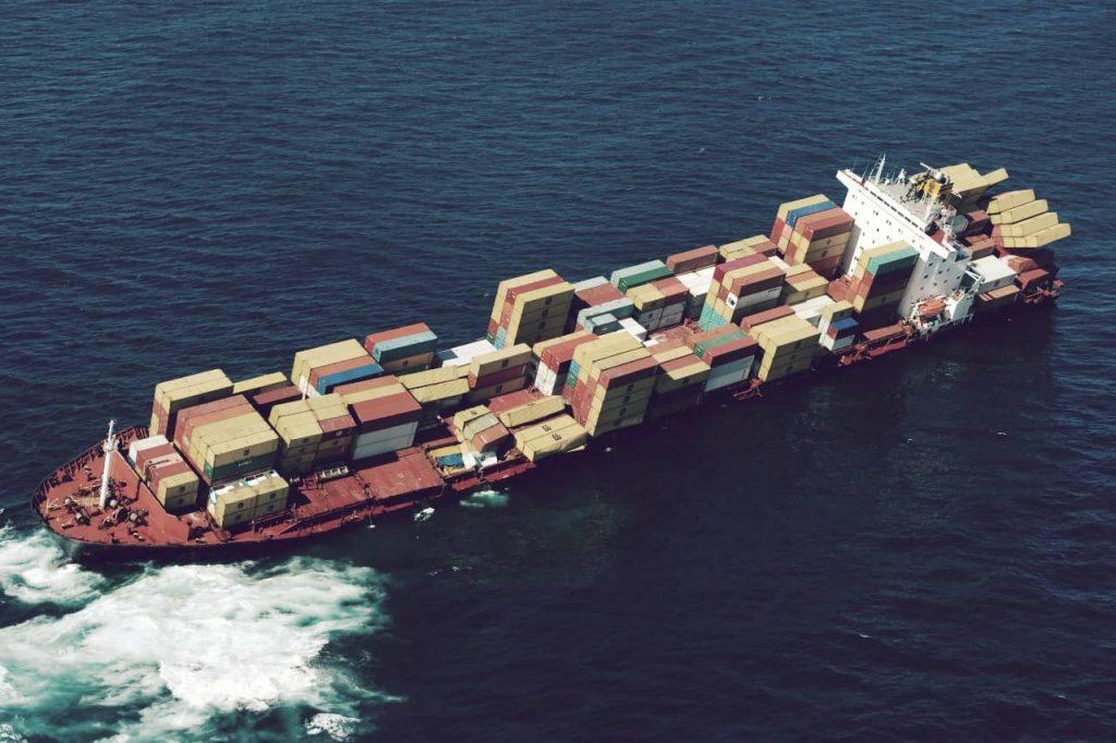 Este es el buque más grande del mundo que surca los mares
