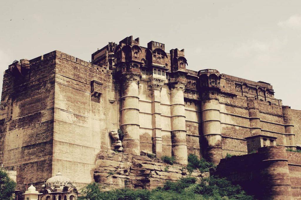 Mehrangarh, uno de los castillos más grandes del mundo