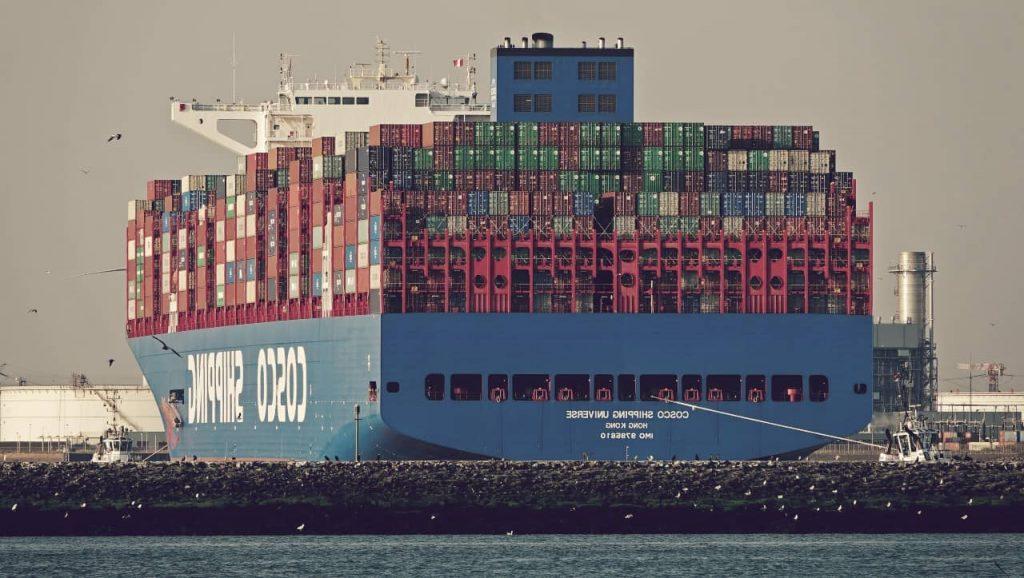 Buque Cosco Shipping Universe