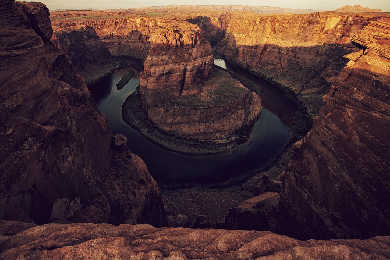 Gran cañón de Estados Unidos, uno de los parques nacionales más grandes de EEUU