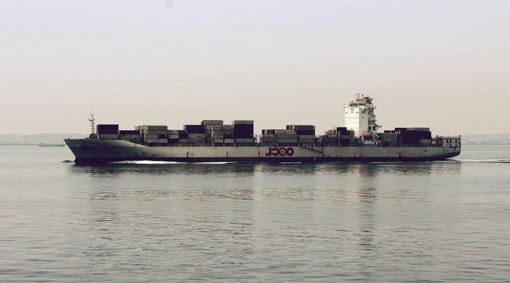 OOCL Hong Kong, el segundo buque más grande del mundo