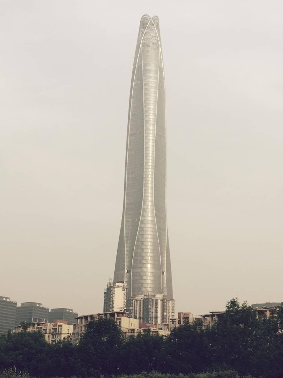 CTF Finance Centre, uno de los rascacielos más grandes y altos del planeta tierra