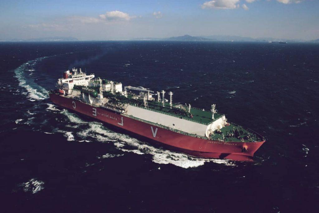 VLEC Ethane Crystal, el séptimo de los buques más grandes del mundo