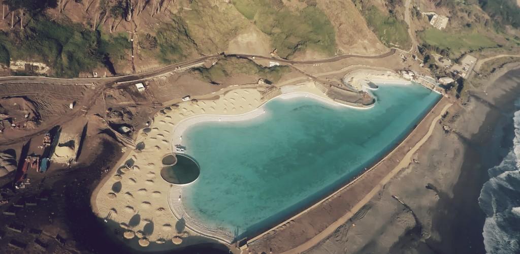 Las brisas, la tercera piscina más grande de Chile