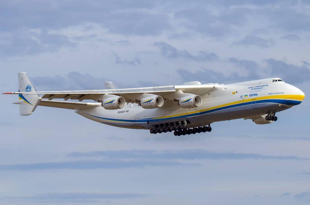 Antonov, el avión de carga más pesado y grande del mundo