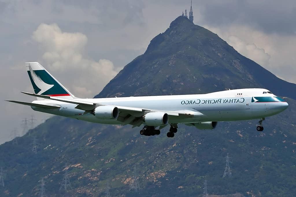 Boeing 747-8, uno de los aviones más grandes del planeta