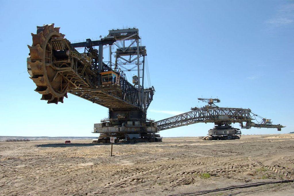 Máquina Bagger 293, una de las más grandes y espectaculares