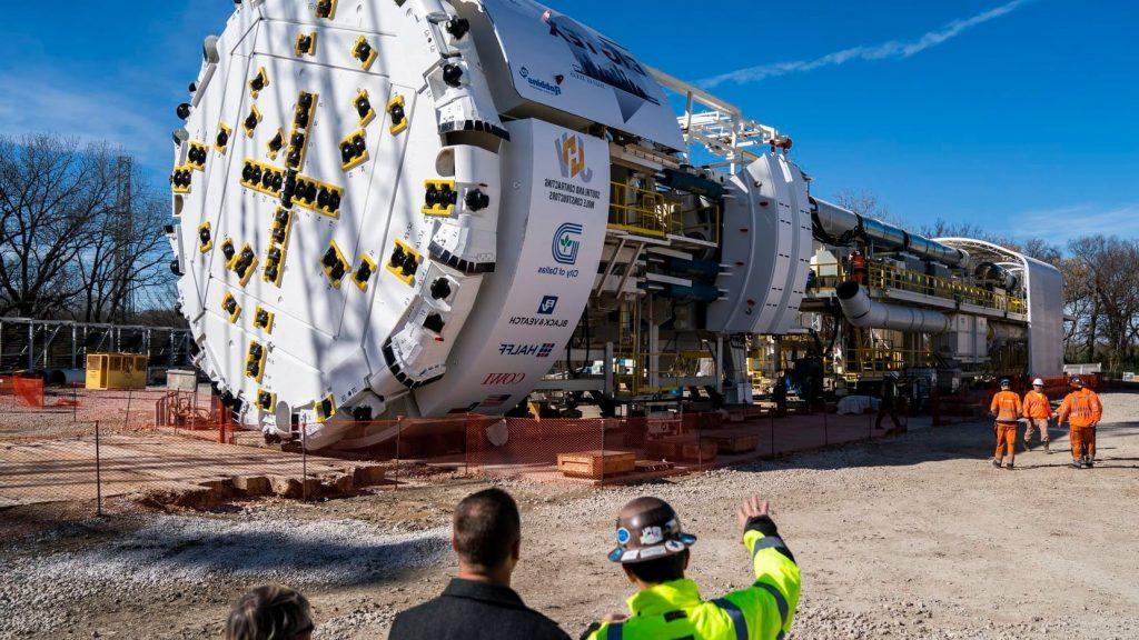Bertha, la 4rta máquina más grande del mundo