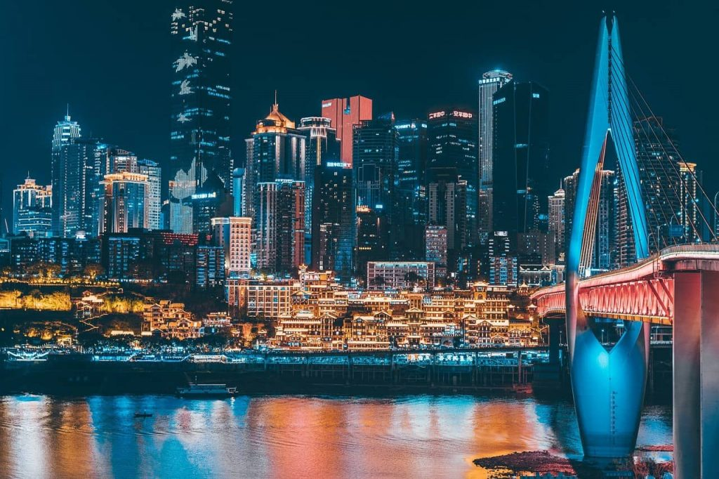 Chongqing, una de las ciudades más grandes de China