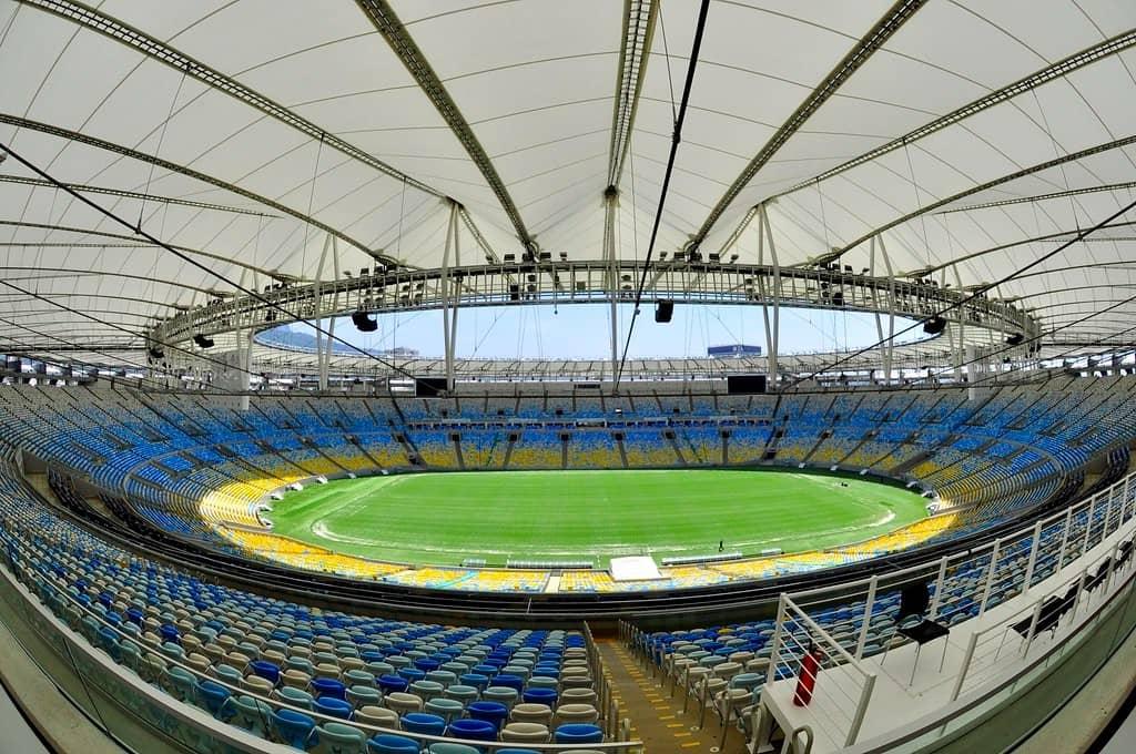 Estadio jornalista mário filho, uno de los más grandes de sudamérica